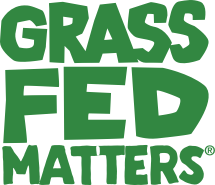 Grass Fed Matters Logo on Mobile devices